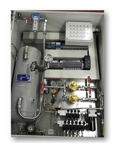 Armoire électro-pneumatique