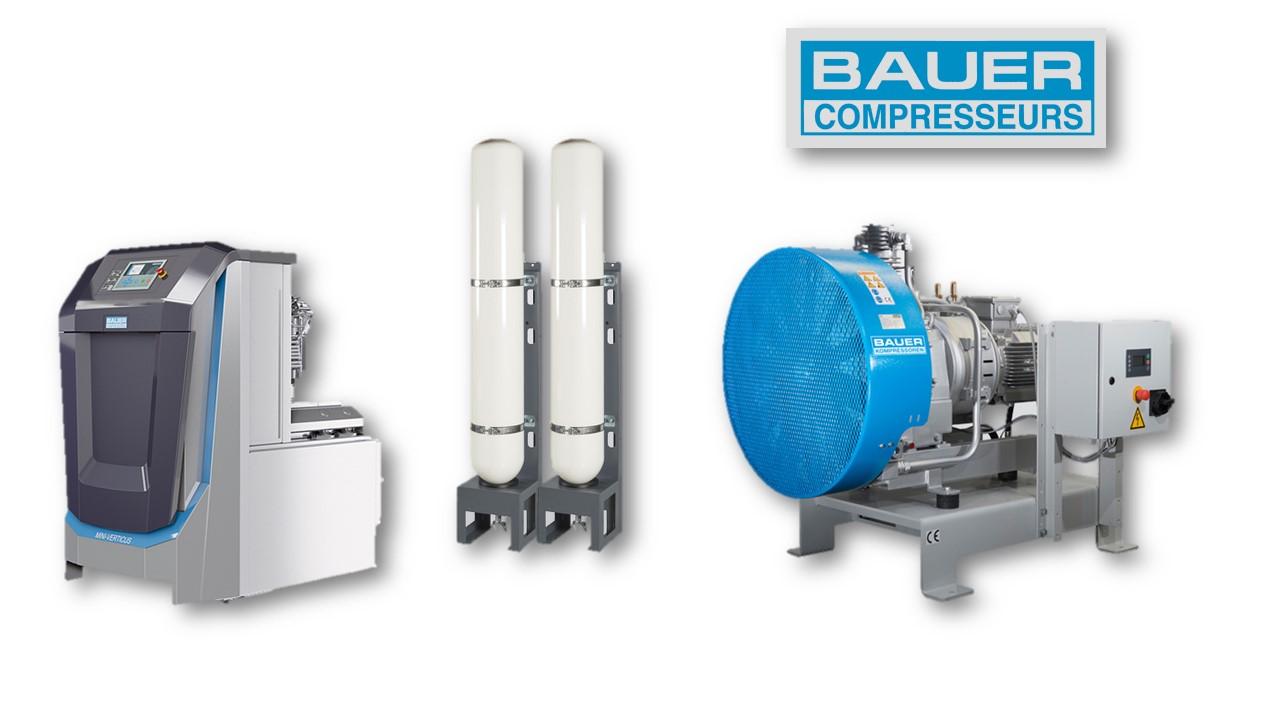 Tech H - Compresseur haute pression - Bauer - Industrie